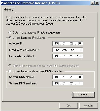 Assigner deux adresses IP à une seule carte réseau 3